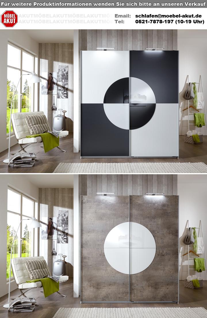 kleiderschrank round up schwebet renschrank alpinwei anthrazit 180 cm breit ebay. Black Bedroom Furniture Sets. Home Design Ideas
