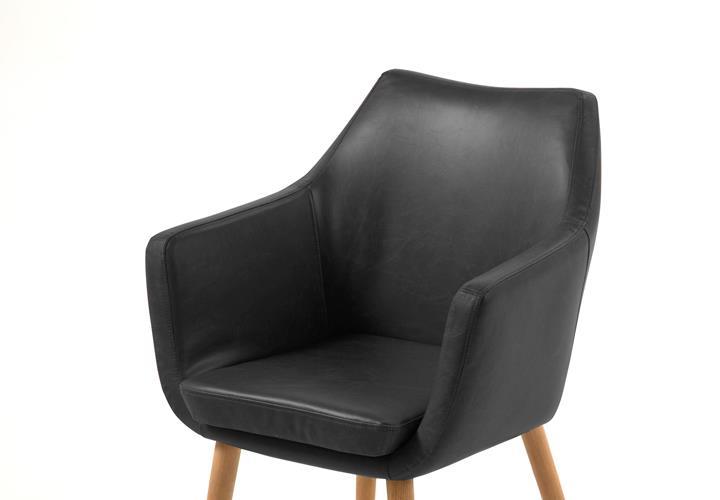 Stuhl Nora Esszimmer Armlehnenstuhl Sessel In Vintage Lederlook