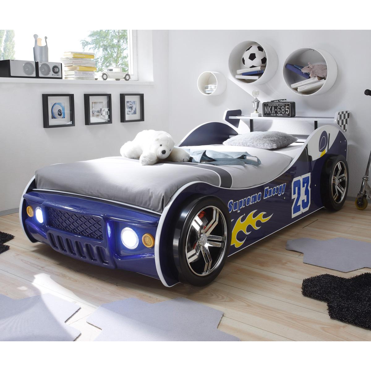 Pol-Power \'Energy\' Autobett (Blau) Inkl. Beleuchtung | eBay