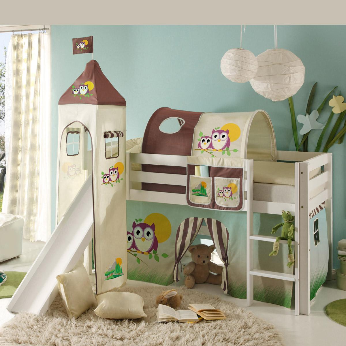 Anspruchsvoll Bett Kinderzimmer Galerie Von Etagenbett-hochbett-kinderzimmer-bett-90x200-kiefer-natur-oder-