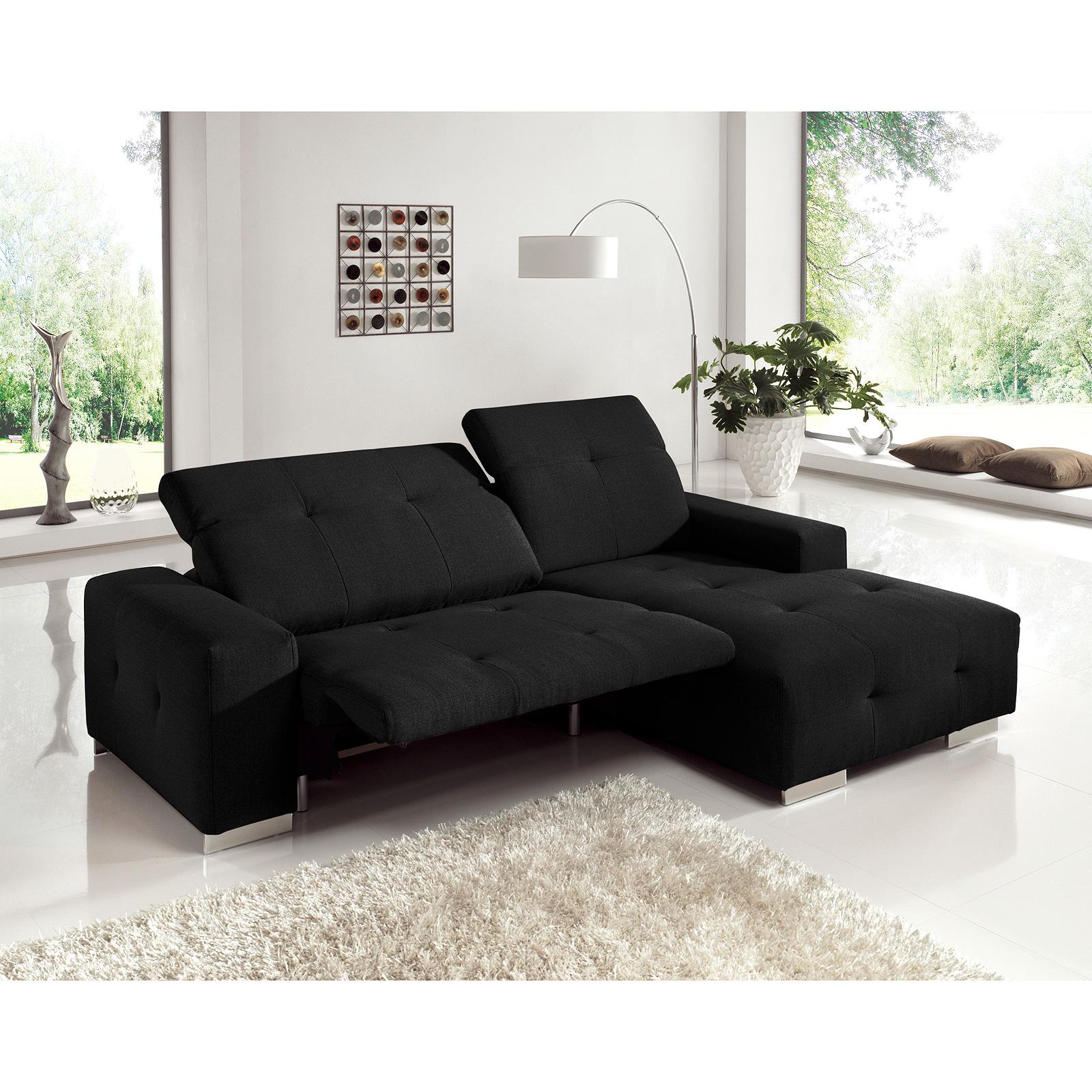 ecksofa francisco sofa polsterecke wohnlandschaft mit auswahl ebay. Black Bedroom Furniture Sets. Home Design Ideas