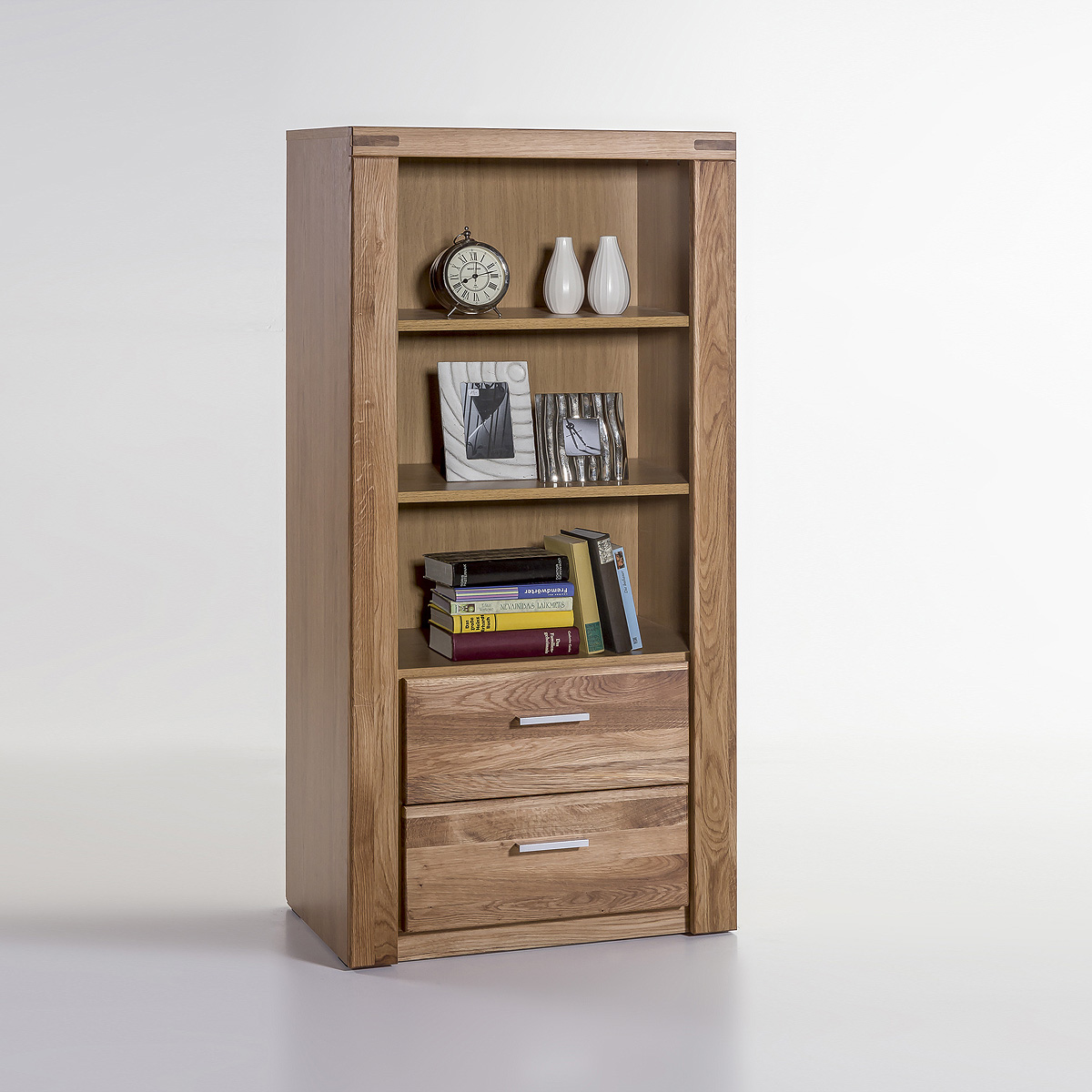 regal tabea b cherregal wohnzimmerregal in kernbuche oder wildeiche teil massiv ebay. Black Bedroom Furniture Sets. Home Design Ideas