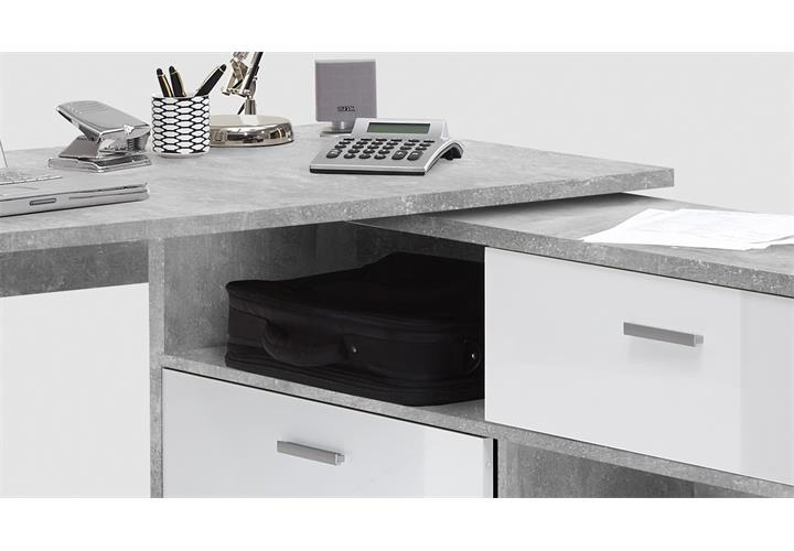 eck schreibtisch diego computertisch b rotisch winkeltisch. Black Bedroom Furniture Sets. Home Design Ideas