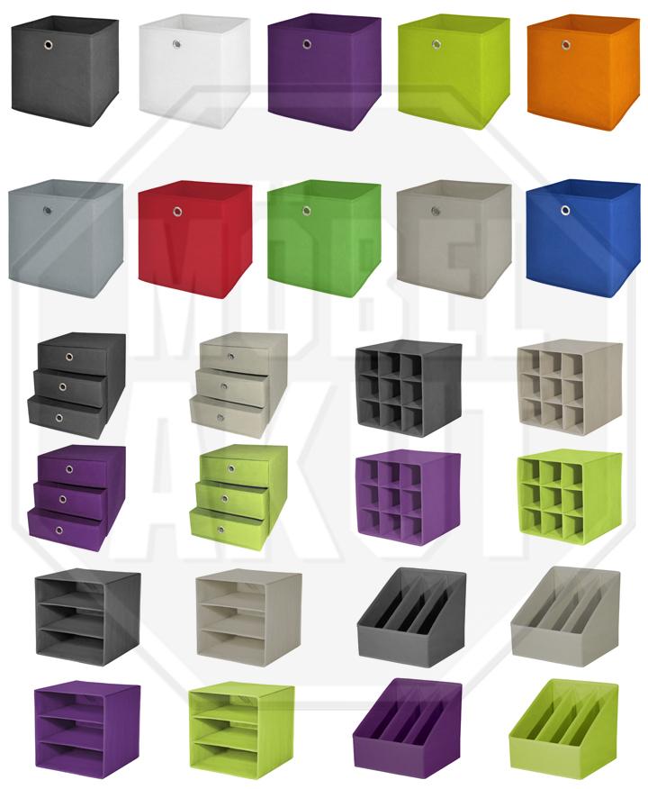 Details Zu Faltbox Flori 1 Korb Regal Büro Aufbewahrungsbox In Brombeer 4er Set 32x32