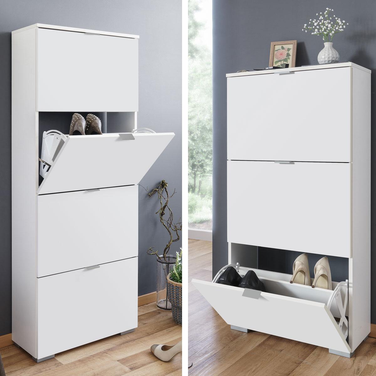 schuhschrank frankfurt schuhkipper 3 oder 4 klappen 2. Black Bedroom Furniture Sets. Home Design Ideas