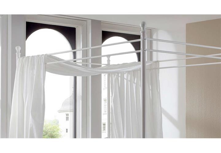 Metallbett-Lisa-Himmelbett-Gestell-in-weiss-120-x-200-cm-Matratze-und-Lattenrost