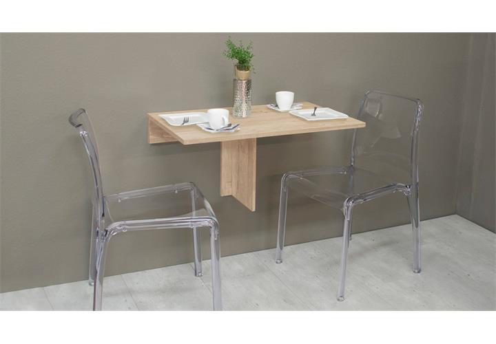 klapptisch klappi klappbar wandtisch esstisch k che tisch rund oder eckig ebay. Black Bedroom Furniture Sets. Home Design Ideas