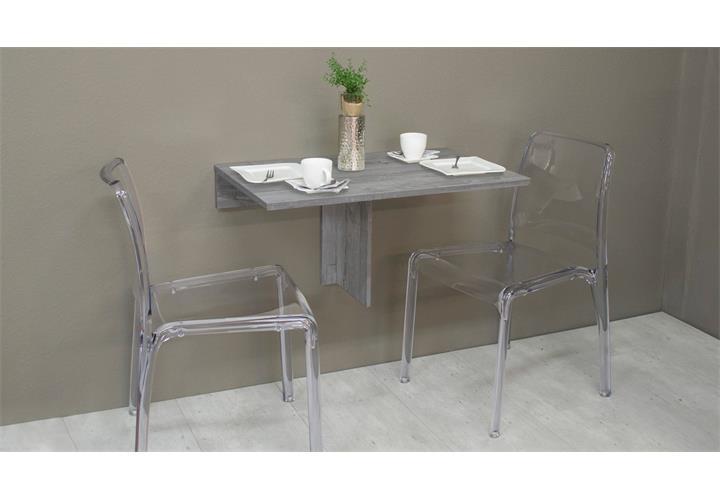 Klapptisch Klappi klappbar Wandtisch Esstisch Küche Tisch rund oder ...