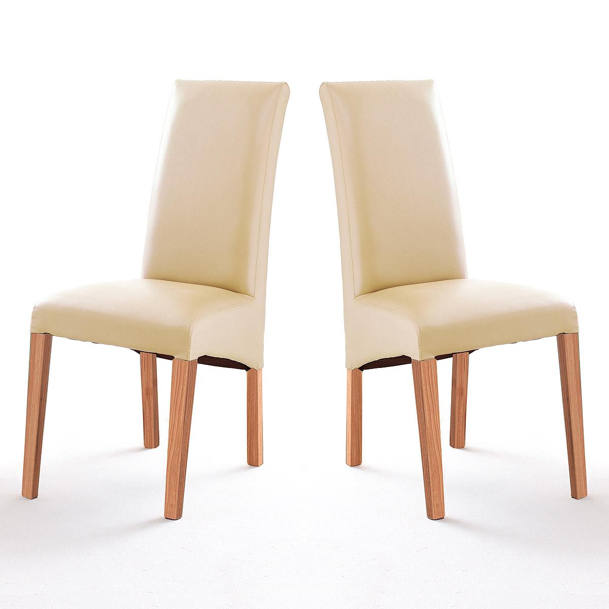 stuhl foxi 2er set polsterstuhl esszimmer k chenstuhl holzgestell ebay. Black Bedroom Furniture Sets. Home Design Ideas