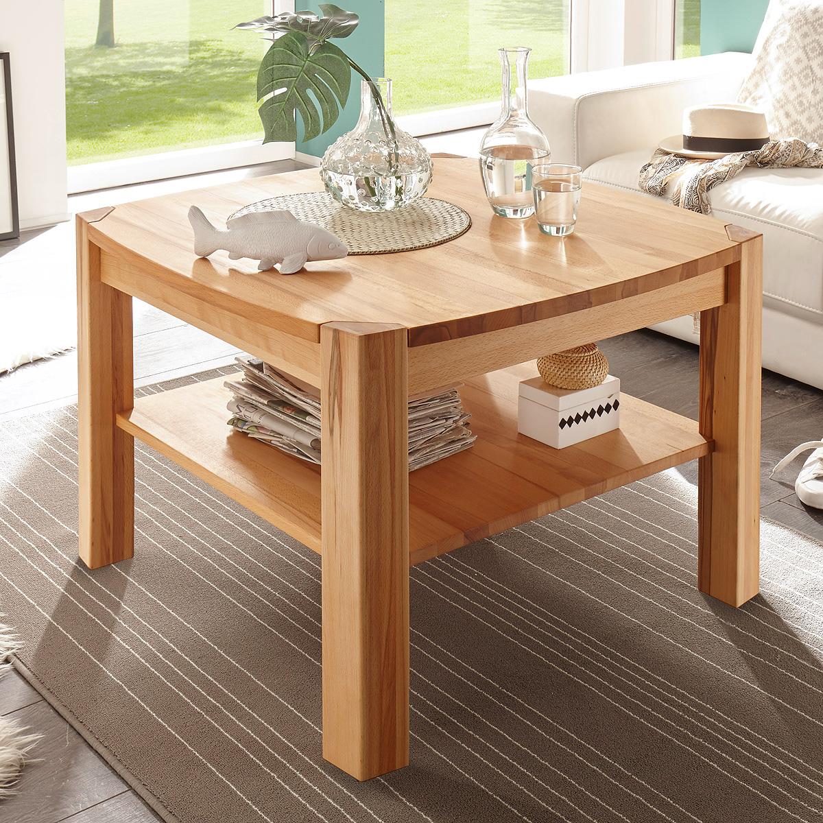 couchtisch kalipso beistelltisch tisch kernbuche oder asteiche massiv ge lt ebay. Black Bedroom Furniture Sets. Home Design Ideas