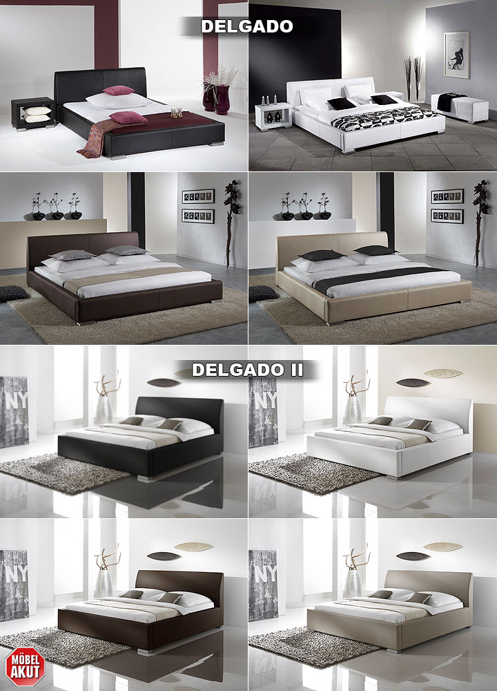polsterbett delgado ii komfortbett schlafzimmer bett doppelbett in braun bielefeld. Black Bedroom Furniture Sets. Home Design Ideas