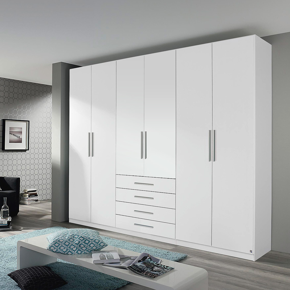 kleiderschrank kempten schrank schlafzimmer in wei und. Black Bedroom Furniture Sets. Home Design Ideas
