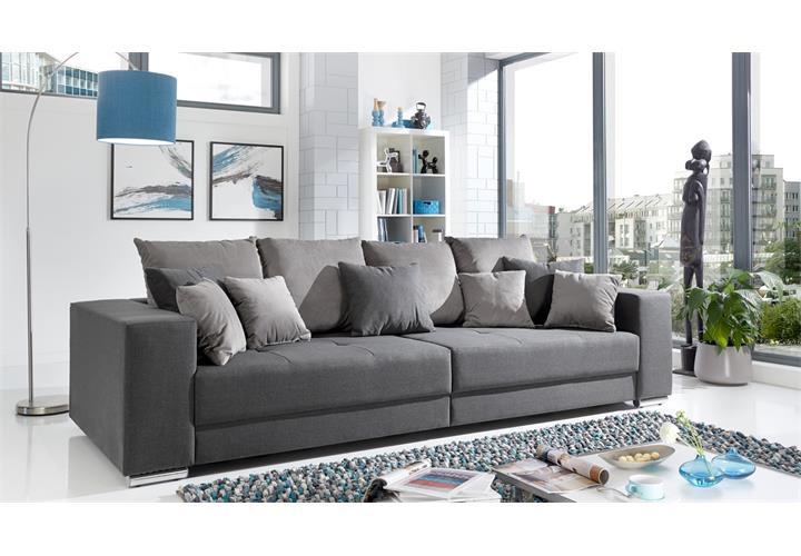 Details Zu Bigsofa Adria Big Sofa Wohnzimmer Xxl Couch Stoff Mit Kissen