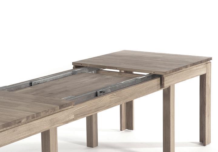 Esstische Eiche esstisch multi xl massivholz tisch mit synchronauszug wahlweise