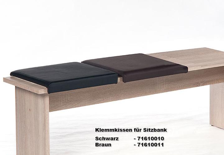 klemmkissen corporal bankkissen braun f r sitztiefe von ca 35 cm. Black Bedroom Furniture Sets. Home Design Ideas