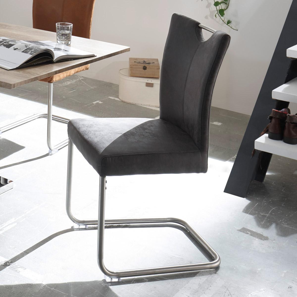 schwingstuhl leya 4er set stuhl freischwinger in. Black Bedroom Furniture Sets. Home Design Ideas