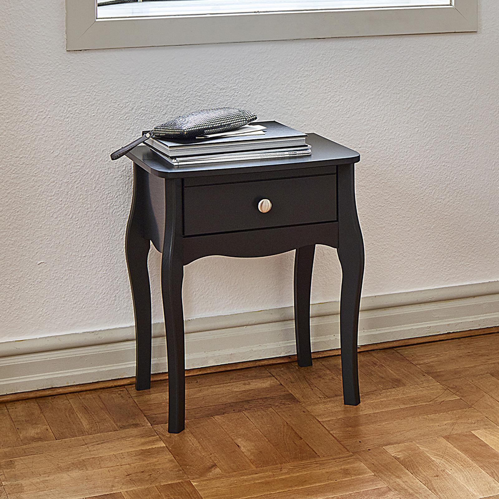 nachttisch fr braun top eglooh u free u nachttisch beschichtet leder braun natur u cm x x h u. Black Bedroom Furniture Sets. Home Design Ideas