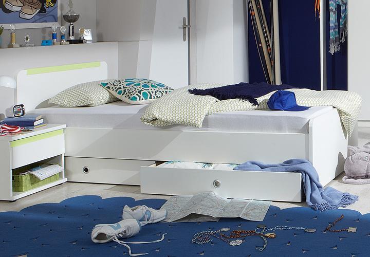 Kinderbett weis 90x200 die neuesten innenarchitekturideen for Kinderbett dachschrage