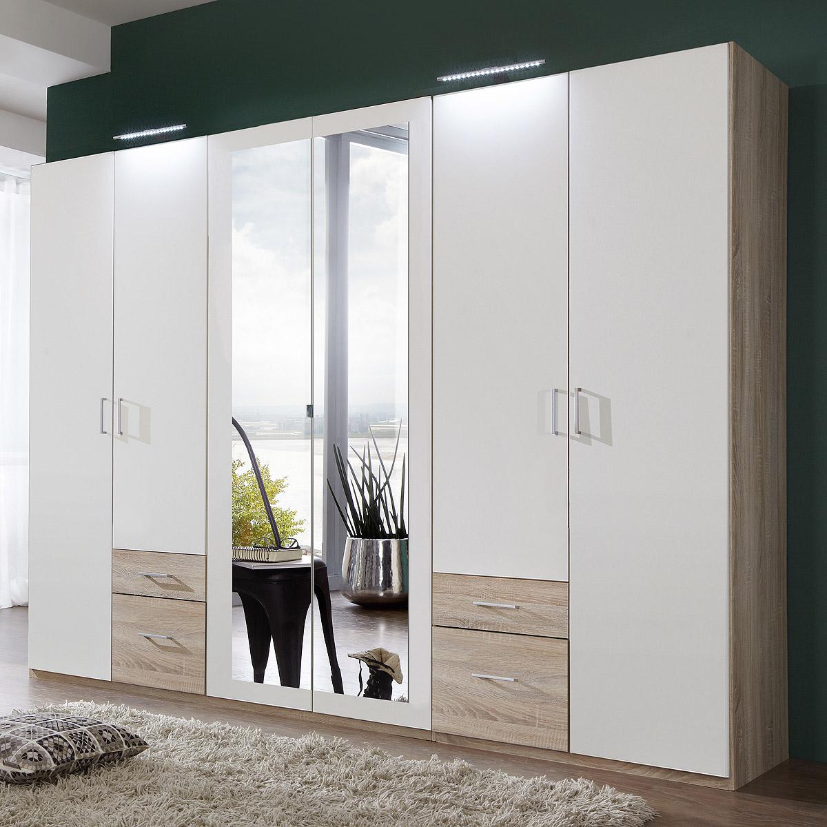 kleiderschrank freiburg schrank dreht renschrank mit spiegel ebay. Black Bedroom Furniture Sets. Home Design Ideas