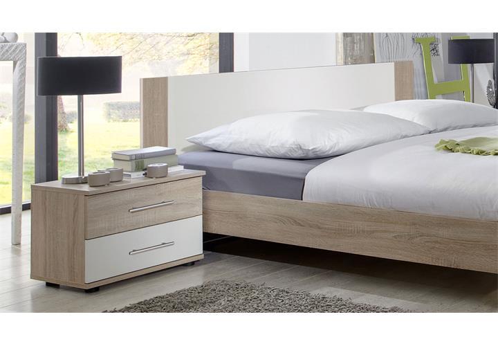 schlafzimmer komplettset kleiderschrank bett 180x200 nachttische ebay. Black Bedroom Furniture Sets. Home Design Ideas