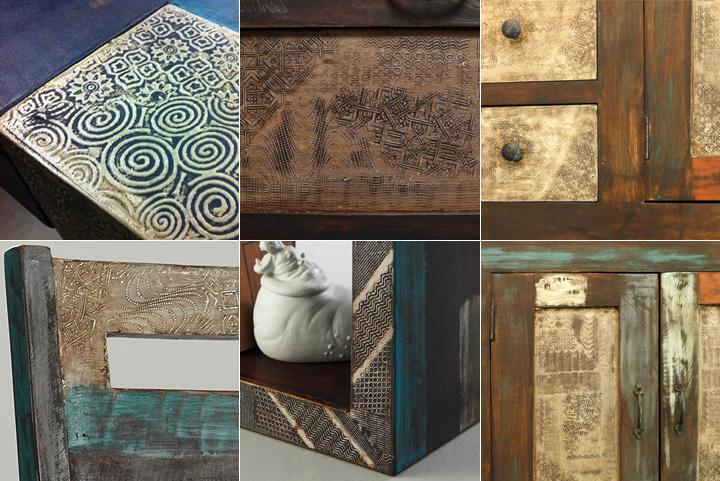 spiegel goa mit massivholzrahmen mangon 135x70 von wolf m bel. Black Bedroom Furniture Sets. Home Design Ideas