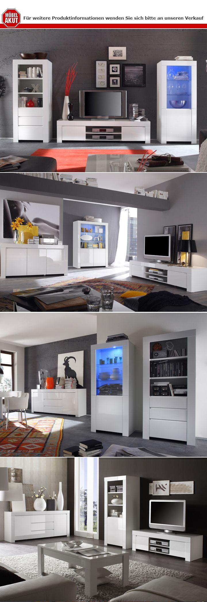 sideboard amalfi wei echt hochglanz lackiert 190cm. Black Bedroom Furniture Sets. Home Design Ideas