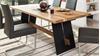 Esstisch ALADIN Tisch 180x95 cm Eiche Natur und schwarz
