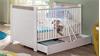 Babyzimmer NILS in Pinie Struktur weiß