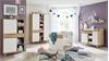 Babyzimmer BASTOS in Eiche Riviera Honig weiß 5-teilig
