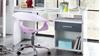 Schreibtisch JOKER in Alpinweiß und anthrazit