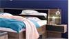 Futonbett VIRGO Bett 180x200 Schlammeiche inkl. LED und Bettkasten