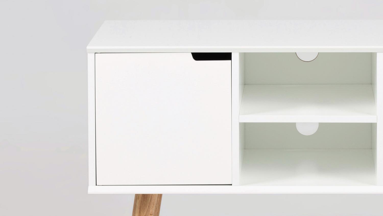 anrichte mitra kommode sideboard tv lowboard wei holzbeine. Black Bedroom Furniture Sets. Home Design Ideas