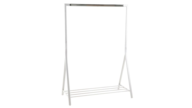 Kleiderständer Weiß Metall brent kleiderständer metall weiß und chrom