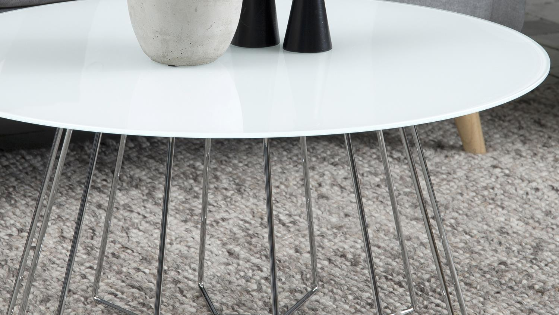 couchtisch rund glas metall finest couchtisch quadratisch. Black Bedroom Furniture Sets. Home Design Ideas