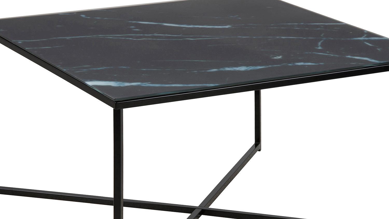 couchtisch alisma beistelltisch tisch in glas schwarz. Black Bedroom Furniture Sets. Home Design Ideas