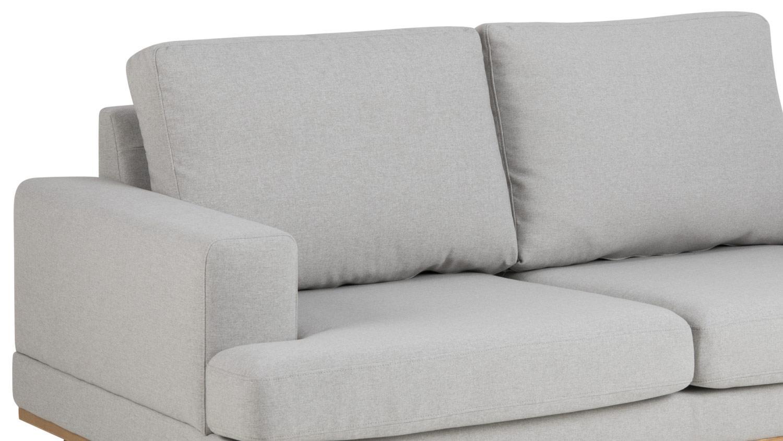 sofa norwich 2 sitzer hellgrau skandinavischer stil. Black Bedroom Furniture Sets. Home Design Ideas