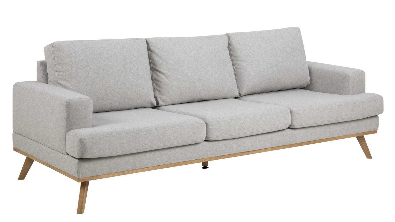 sofa norwich 3 sitzer hellgrau skandinavischer stil couch. Black Bedroom Furniture Sets. Home Design Ideas
