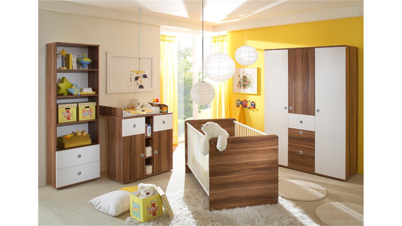 regal wiki standregal babyzimmer in walnuss und wei. Black Bedroom Furniture Sets. Home Design Ideas