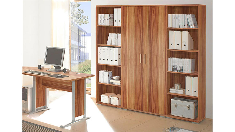 regalwand office line biz regal schrank b ro in wei dekor. Black Bedroom Furniture Sets. Home Design Ideas