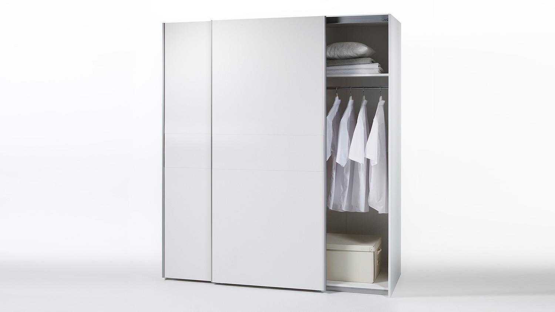 Kleiderschrank Victor 2 Schrank in weiß 170