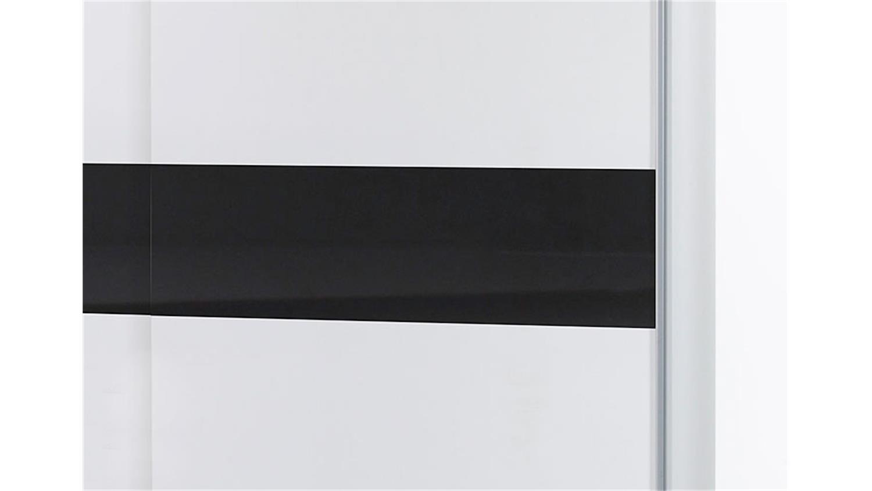 schwebet renschrank victor wei und schwarz 172 cm breit. Black Bedroom Furniture Sets. Home Design Ideas