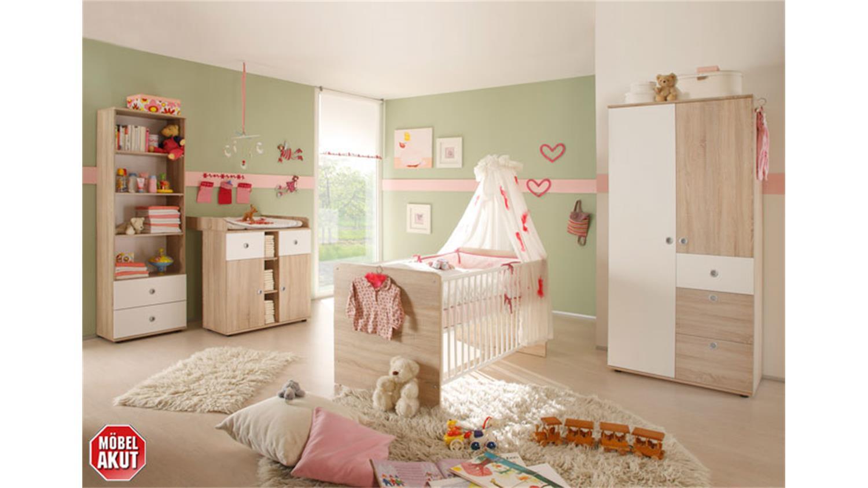 Babyzimmer Wiki 3 Teilig Sonoma Eiche Sägerau