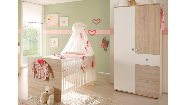Babyzimmer WIKI 4 Tlg Sonoma Eiche Sagerau
