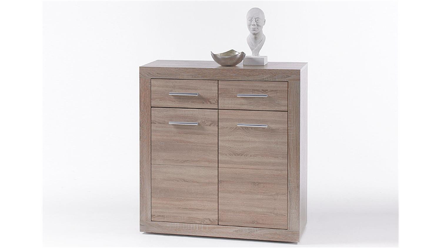 kommode cancan 1 sideboard highboard in sonoma eiche. Black Bedroom Furniture Sets. Home Design Ideas