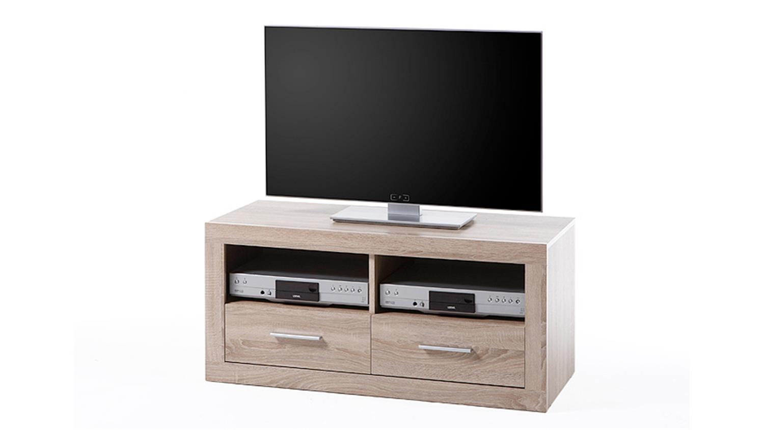 tv board cancan 5 lowboard tv kommode in sonoma eiche. Black Bedroom Furniture Sets. Home Design Ideas