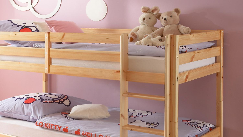 Etagenbett Gute Qualität : Etagenbett buche extra stabil cm kinderbett ohne zubehör