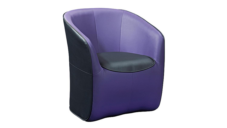 hocker theo sitzhocker polsterhocker w rfel schwarz und lila. Black Bedroom Furniture Sets. Home Design Ideas