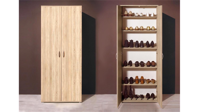 mehrzweckschrank talent dielenschrank in sonoma eiche. Black Bedroom Furniture Sets. Home Design Ideas