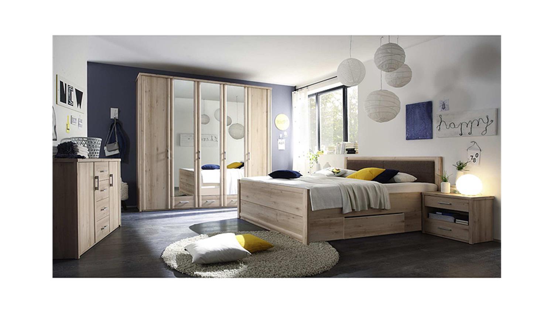 bettanlage classic buche bett 180x200 mit schubk sten 2 nachtkommoden. Black Bedroom Furniture Sets. Home Design Ideas