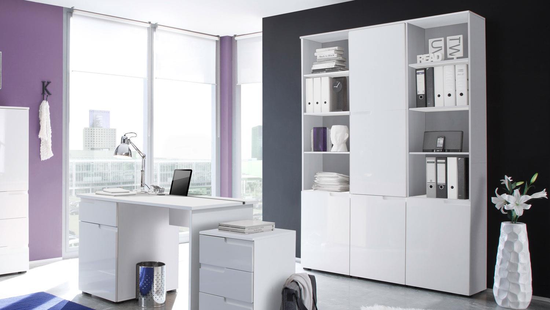 schrank spice hoch front mdf wei hochglanz. Black Bedroom Furniture Sets. Home Design Ideas